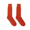 Short Burnt Orange Heavy Sports Wool Socks