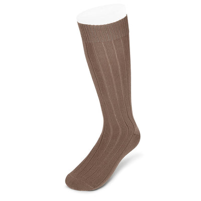 Long Mid Brown Heavy Sports Wool Socks