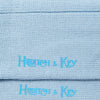 Long Pale Blue Heavy Sports Wool Socks