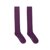 Long Purple Heavy Sports Wool Socks