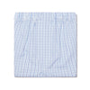 White With Blue Check 100% Cotton Boxer Short