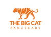 Big Cat Sanctuary Kasanga Silk Pocket Square In Wine