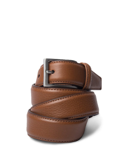 Tan Brown Leather Belt