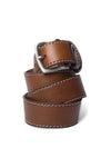 Mid Brown Leather Belt