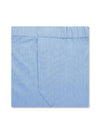 Classic Boxer Shorts in a Plain Blue End-On-End Cotton