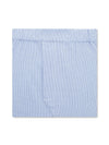 Classic Boxer Shorts in a Blue & White Check Poplin Cotton