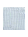 Classic Boxer Shorts in a Navy & White Large Graph Check Poplin Cotton