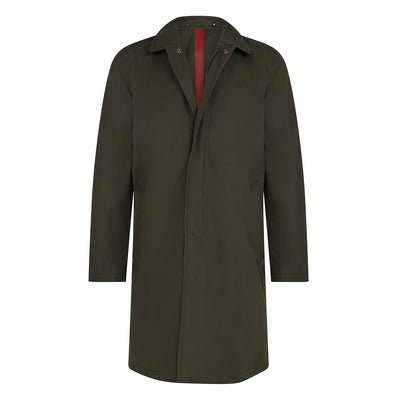 Moss Green Ventile Raincoat