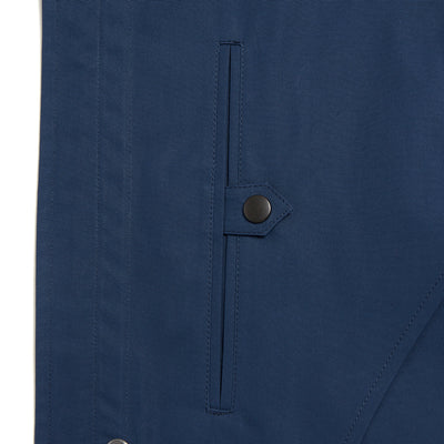 Storm Blue Ventile Raincoat