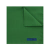 Plain Green Silk Handkerchief