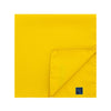Plain Yellow Silk Handkerchief