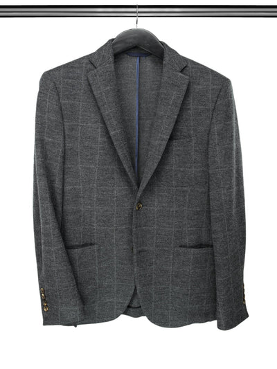 Charcoal Grey Woollen Jacket