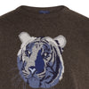Big Cat Sanctuary Cashmere Sweater In Brown