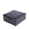 Navy Leather Large Stud Box