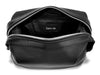 Black Calf Leather Washbag