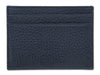 Navy Calf Leather Double Sided Card Holder