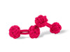 Fuschia Pink Knot Links