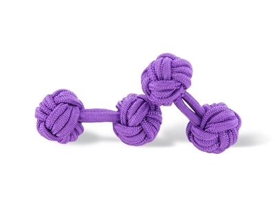 Lavender Purple Knot Links