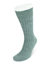 Short Mid Grey Wool Socks