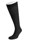 Long Black Wool Socks