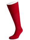Long Red Wool Socks