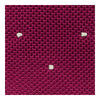 Cerise Knitted Silk Tie with White Spots