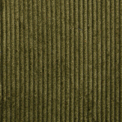Dark Green Cotton Corduroy Trousers