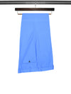 Royal Blue Cotton Trousers