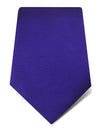 Plain Purple Woven Silk Tie