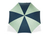 Light Grey & Navy Golf Umbrella