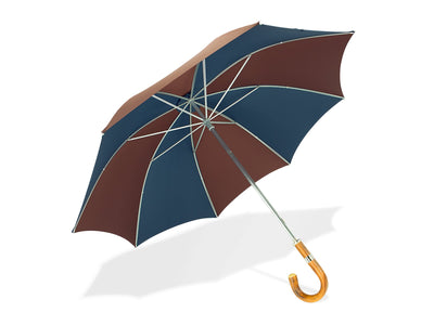 Wine & Navy Golf Umbrella