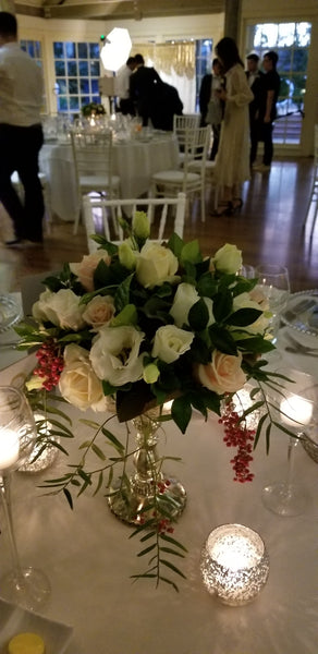 flowers table centre piece