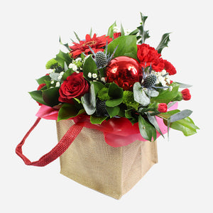 a festive range of florist fresh flowers.