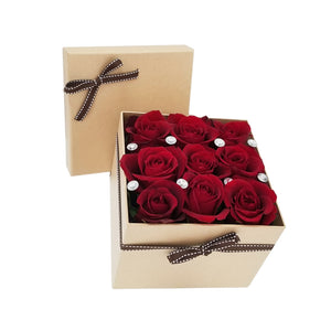 Romantic Roses Gift Box