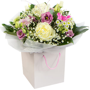 Roses and Gerbera mix flowers Bouquet