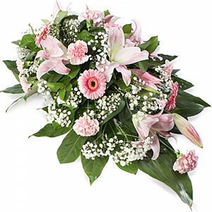Coffin and Casket Floral (Pink)