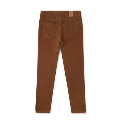 Country Tan Brushed Cotton Jeans
