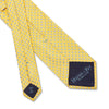 Yellow & Blue Spots Woven Silk Tie