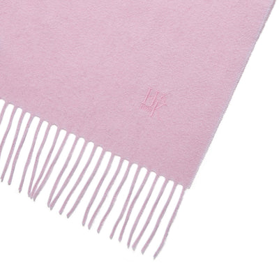 Big Cat Sanctuary Cashmere Scarf In Light Pink