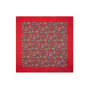 Red Paisley 100% Cotton Handkerchief