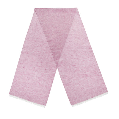 Rose Plain Linen Scarf
