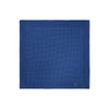 Navy & Blue Pin Spot Silk Handkerchief