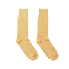Short Mid Yellow Heavy Sports Wool Socks