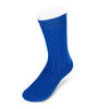 Short Royal Blue Heavy Sports Wool Socks
