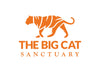 Big Cat Sanctuary Cashmere Scarf In Carmine