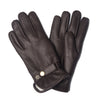 Brown Leather Gloves with Sheepskin Lining