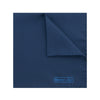 Plain Dark Navy Silk Handkerchief