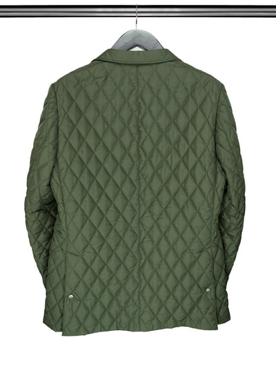 Olive Green Quilted Jacket
