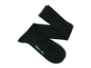 Long Plain Black Cotton Socks