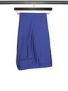 Plain Royal Blue Linen Trousers